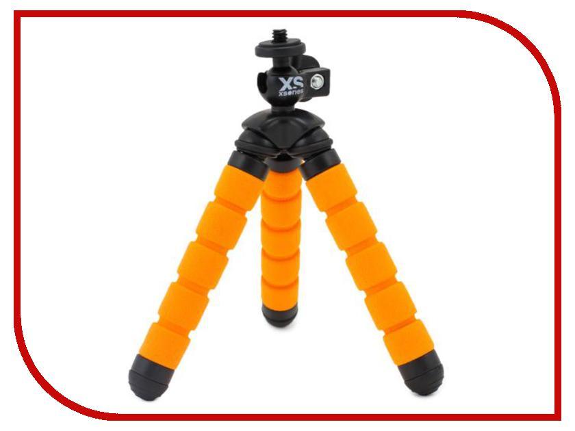 Мини-штатив Xsories Mini Bendy MTRI\BOR Black-Orange<br>