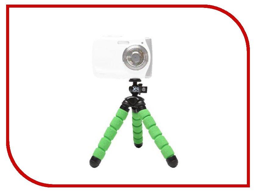 Мини-штатив Xsories Mini Bendy MTRI\BGR Black-Green