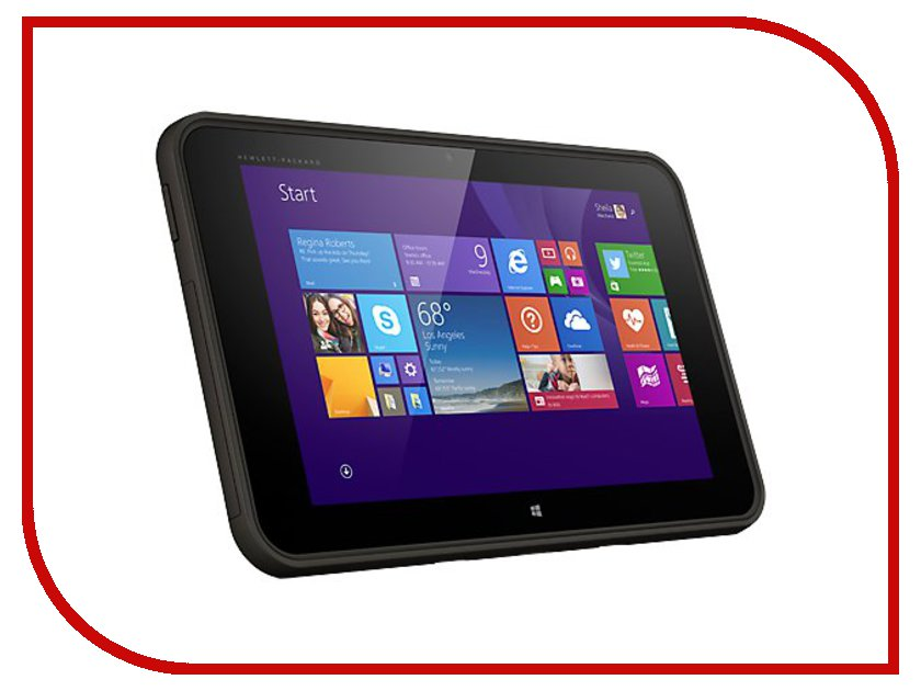 Планшет HP Pro Tablet 10 EE G1 32Gb L2J88AA (Intel Atom Z3735F 1.33 GHz/2048Mb/32Gb/Wi-Fi/Bluetooth/Cam/10.1/1280x800/Windows 8)<br>
