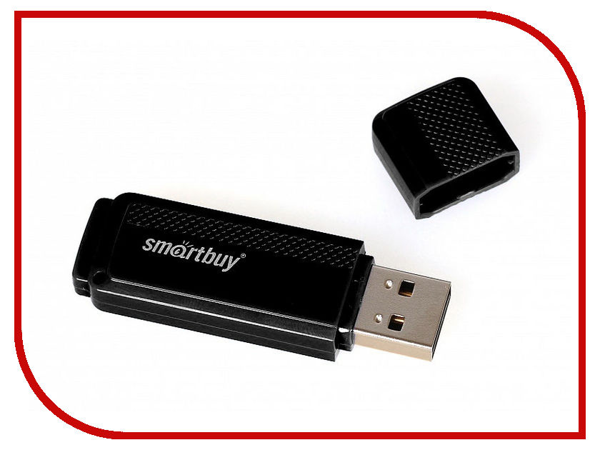 USB Flash Drive 16Gb - SmartBuy Dock Black SB16GBDK-K3