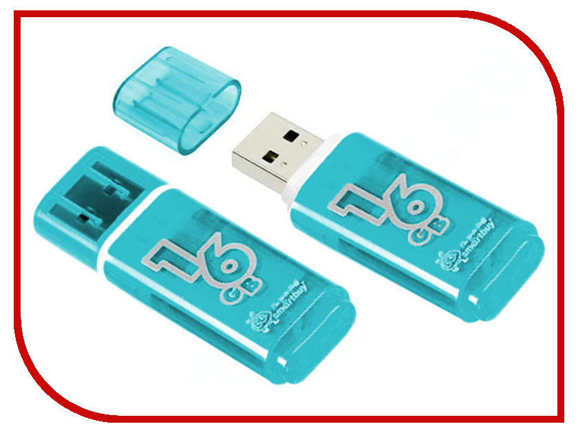 USB Flash Drive 16Gb - SmartBuy Glossy Green SB16GBGS-G цена и фото