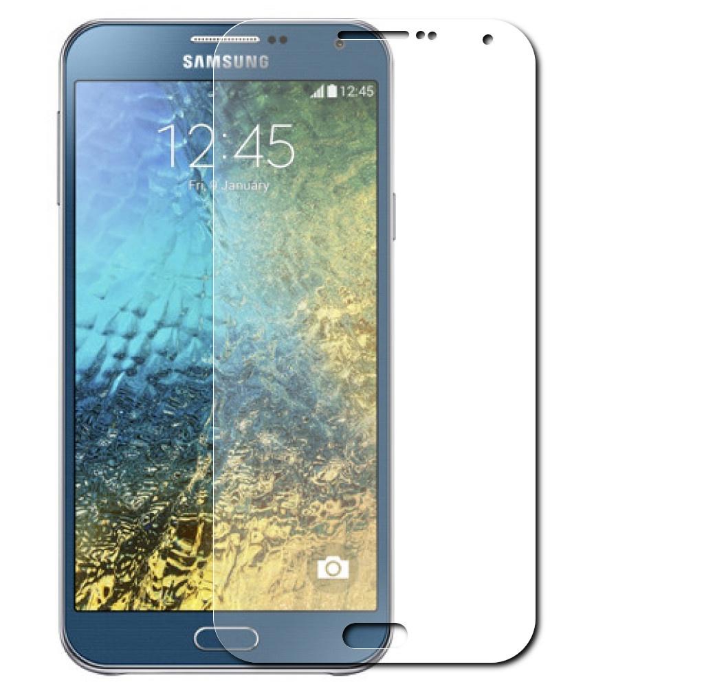Аксессуар Защитная пленка Samsung Galaxy E7 SM-E700 LuxCase суперпрозрачная 80896<br>