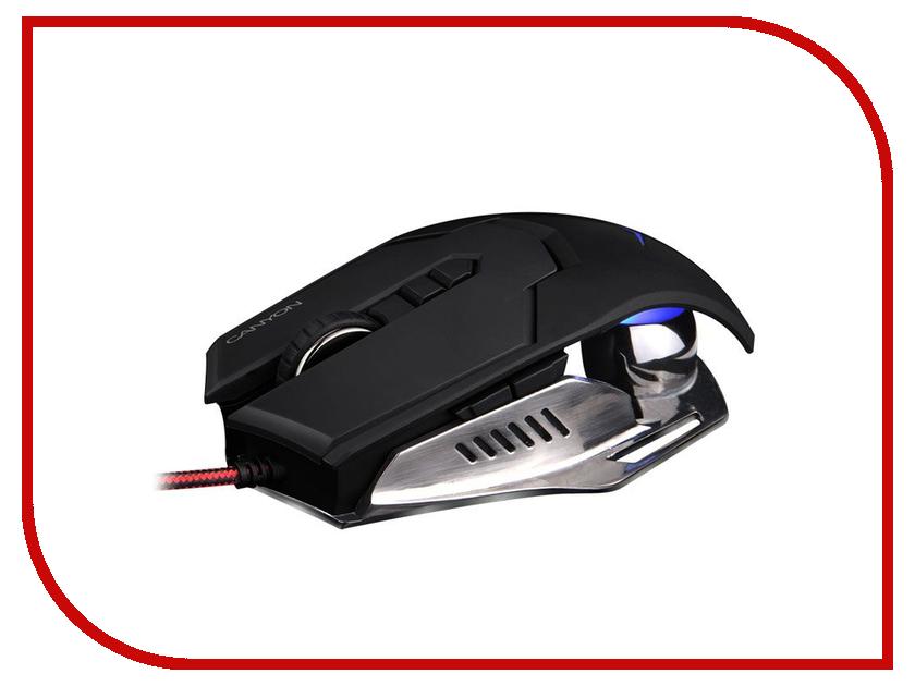 Мышь проводная Canyon Gaming Mouse Hazard CND-SGM6 Black<br>