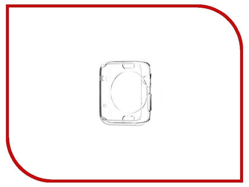 Аксессуар Клип-кейс APPLE Watch 38mm Spigen SGP Liquid Cristal Transparent SGP11484<br>