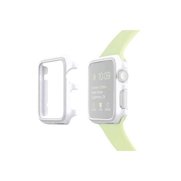 Аксессуар Клип-кейс APPLE Watch 38mm SGP Thin Fit SGP11488 White