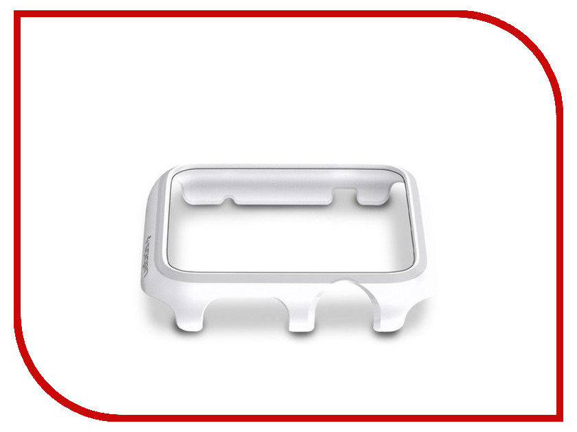 ��������� ����-���� APPLE Watch 42mm SGP Thin Fit White SGP11499