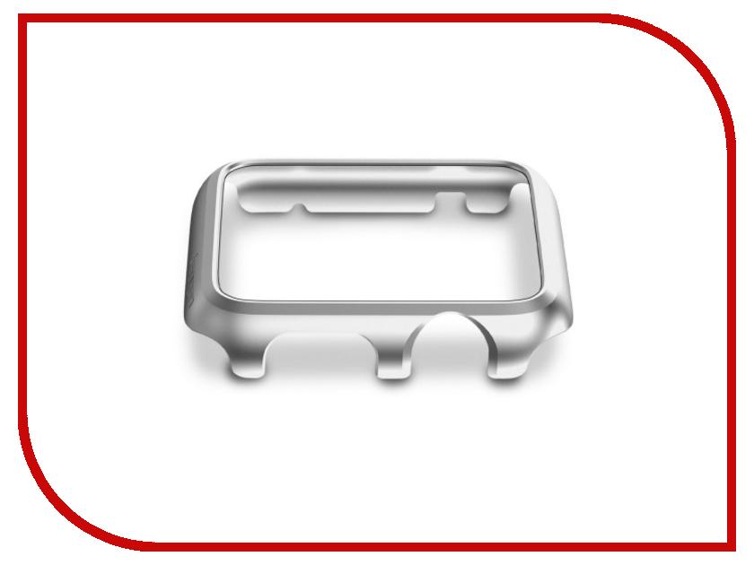 Аксессуар Клип-кейс APPLE Watch 42mm SGP Thin Fit Silver SGP11500<br>