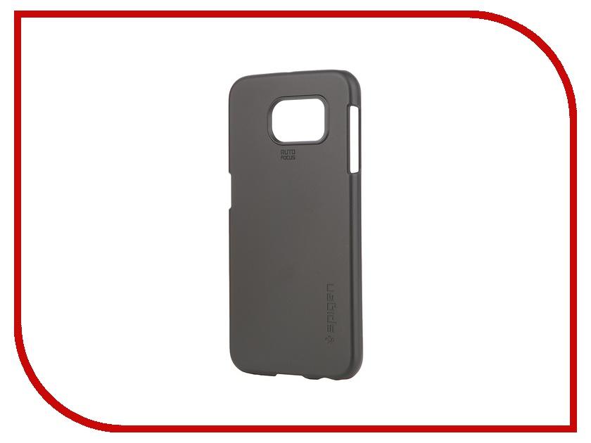 Аксессуар Клип-кейс Samsung G920F Galaxy S6 Spigen SGP Thin Fit Series SGP11308 Black