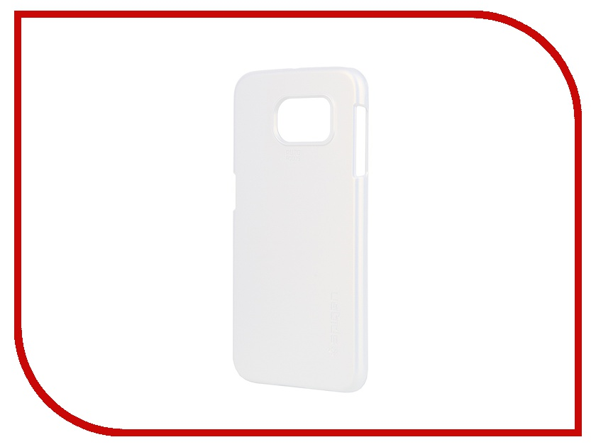 Аксессуар Клип-кейс Samsung G920F Galaxy S6 SGP Thin Fit Series SGP11309 White<br>