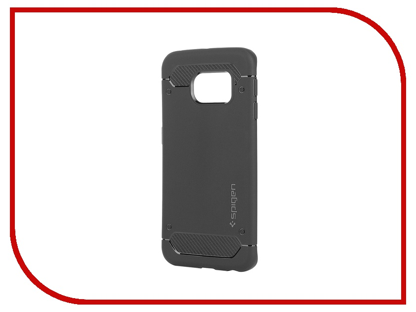 Аксессуар Клип-кейс Samsung G925F Galaxy S6 Edge Spigen SGP Capsule Ultra Rugged SGP11414 Black