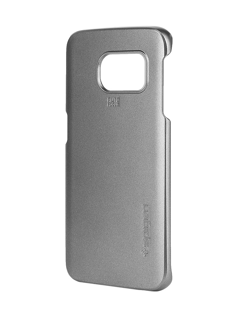 Аксессуар Клип-кейс Samsung Galaxy S6 Edge SGP Thin Fit SGP11410 Steel