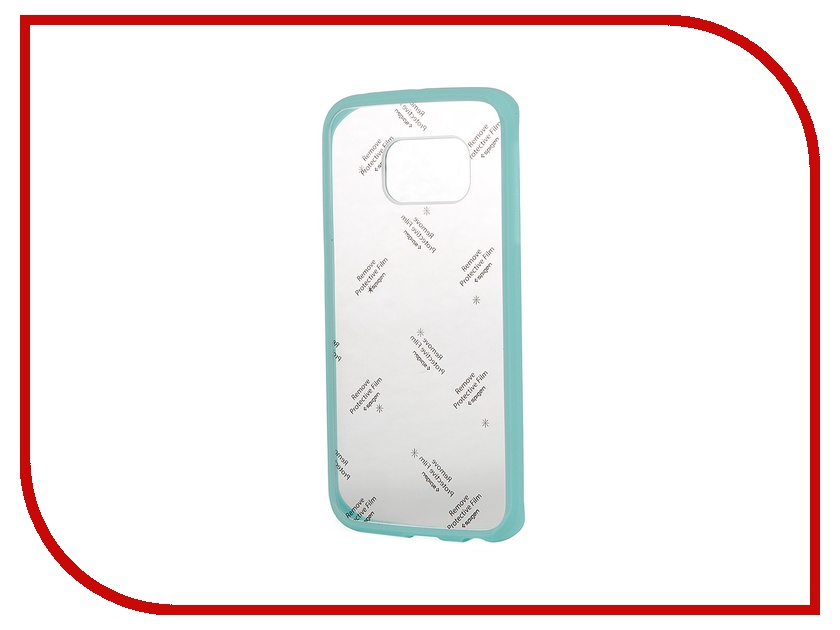 Аксессуар Чехол-накладка Samsung G925F Galaxy S6 Edge SGP Ultra Hybrid SGP11416 Mint<br>