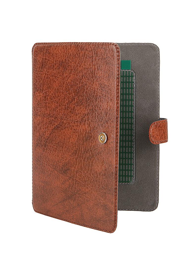 Аксессуар Чехол-книжка for Norton Ultra Slim 6-inch универсальный, на клейкой основе 176x125mm Brown