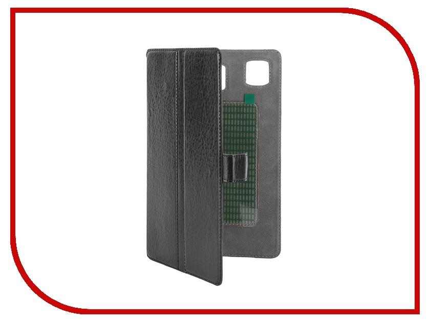 Аксессуар Чехол-книжка Norton Ultra Slim 7-inch универсальный, на клейкой основе 200x120mm Black<br>