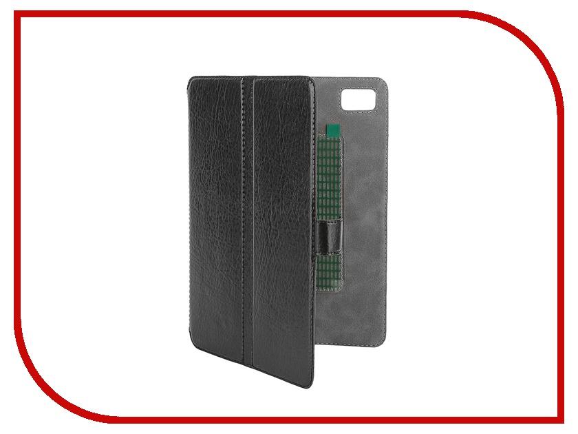 Аксессуар Чехол-книжка for Norton Ultra Slim 7.85-inch универсальный, на клейкой основе 203x137mm Black<br>