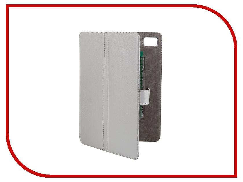 Аксессуар Чехол-книжка for Norton Ultra Slim 7.85-inch универсальный, на клейкой основе 203x137mm Grey