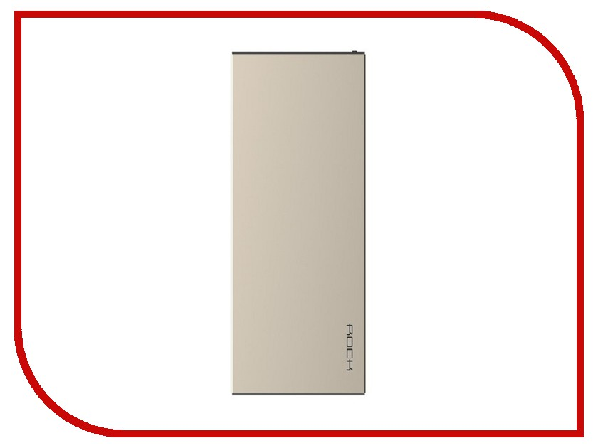 Аккумулятор ROCK Stone Power Bank 10000 mAh RMP0301 Gold 88706<br>
