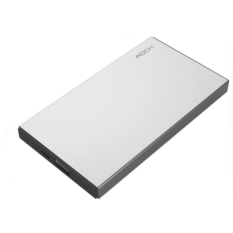 Аккумулятор ROCK Stone Silver 10000 mAh RMP0301 88683