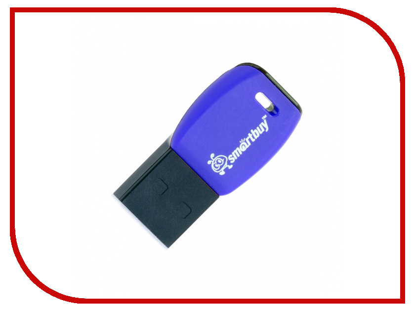 USB Flash Drive 8Gb - SmartBuy Cobra Dark-Blue SB8GBCR-Db
