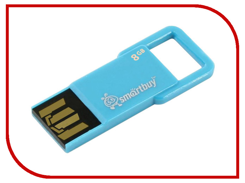 USB Flash Drive 8Gb - SmartBuy Biz Blue SB8GBBIZ-Bl