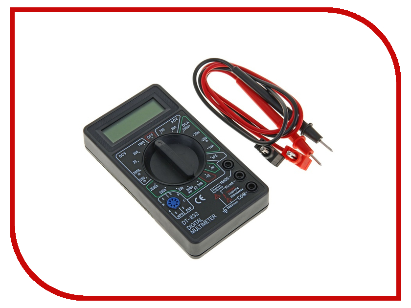 Мультиметр Tundra Basic DT-832 1026050 ключ tundra basic 878089