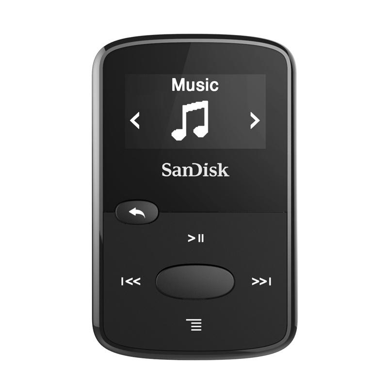 Плеер SanDisk Sansa Clip Jam - 8Gb Black SDMX26-008G-G46K