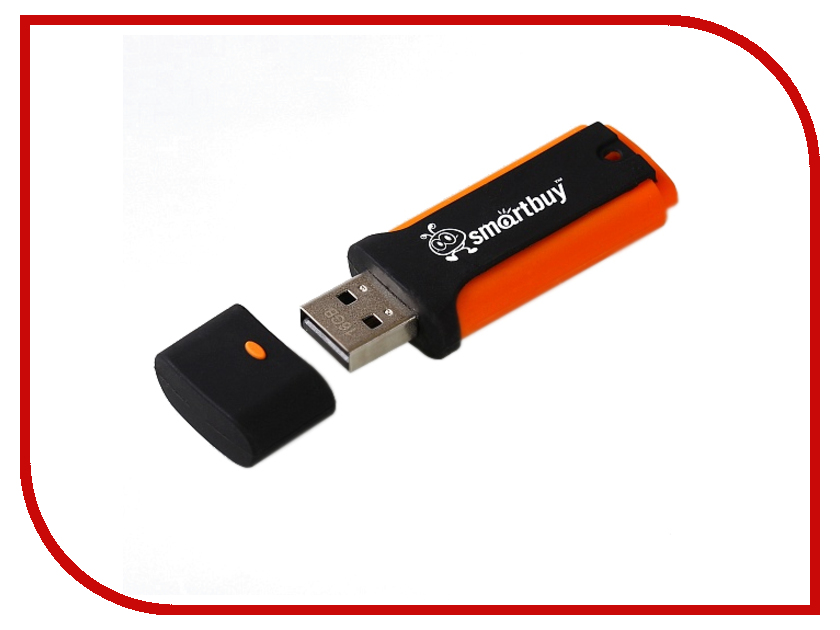 USB Flash Drive 16Gb - SmartBuy Shark Orange SB16GBSK-O