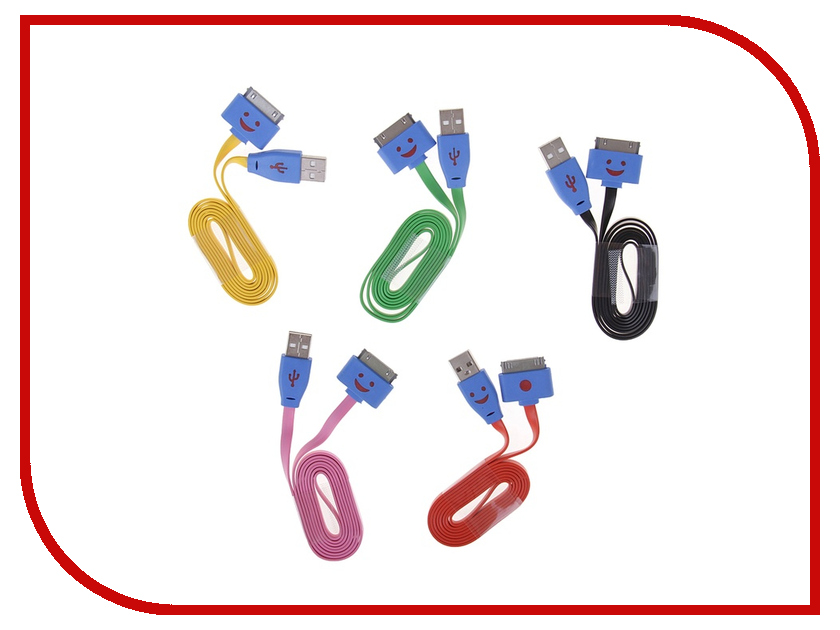 Аксессуар Luazon USB для iPhone 4 / 4s 1m 854734 аксессуар luazon iphone 4 5 3 in 1 microusb 155884