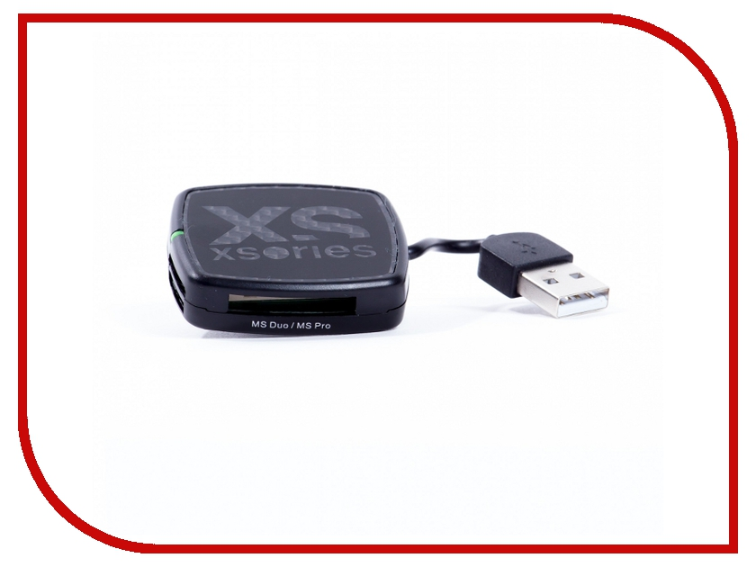 Карт-ридер Xsories USB X-Hub Black XHU\BLA<br>