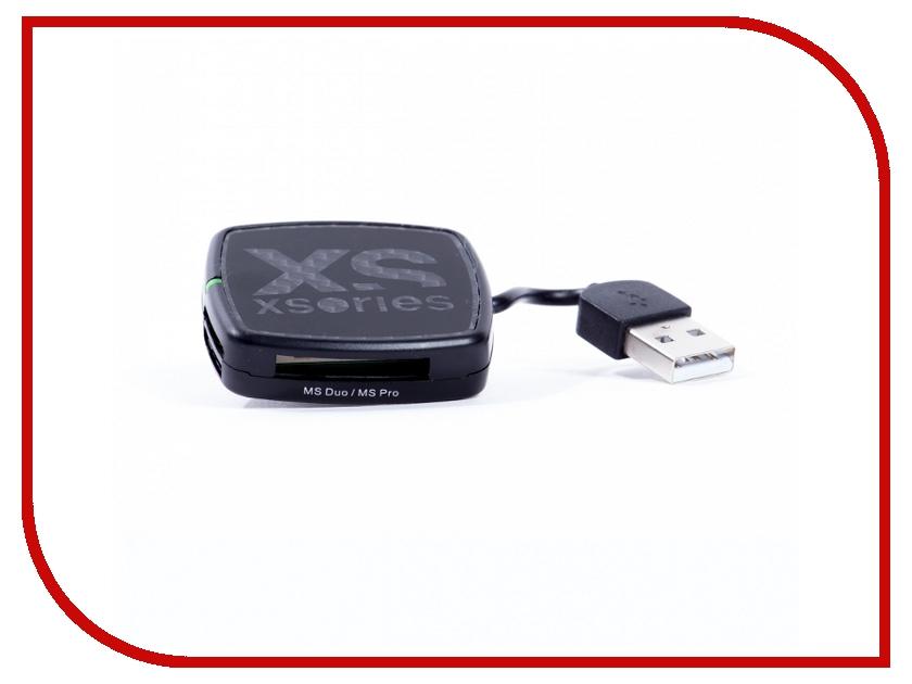 Карт-ридер Xsories USB X-Hub Black XHU\BLA