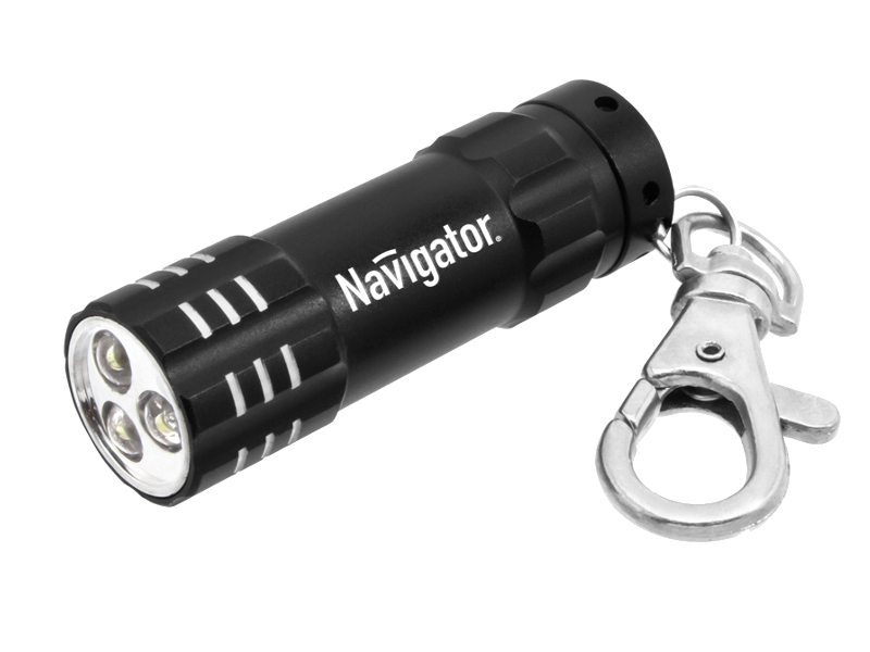 Фонарь Navigator 94 970 Black NPT-KC03-BL-3LR44<br>