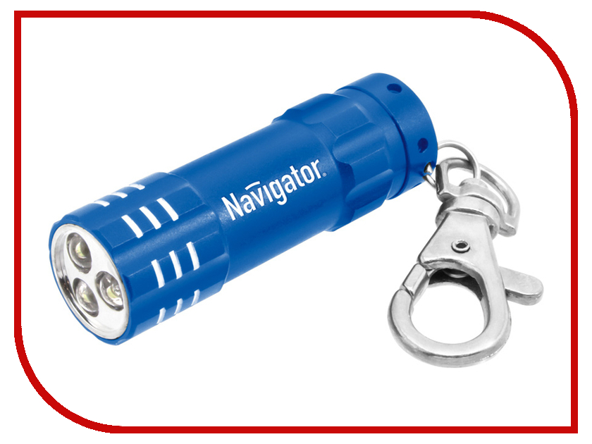 Фонарь Navigator 94 972 Blue NPT-KC03-B-3LR44<br>