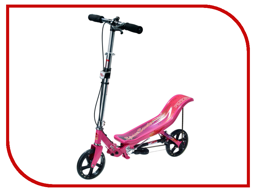 Самокат Space Scooter X580 Pink