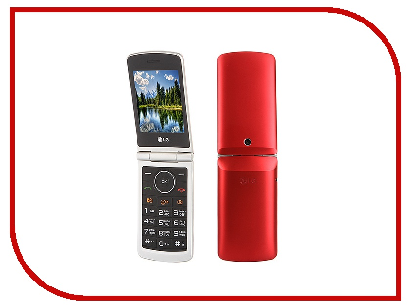 Сотовый телефон LG G360 Red книга