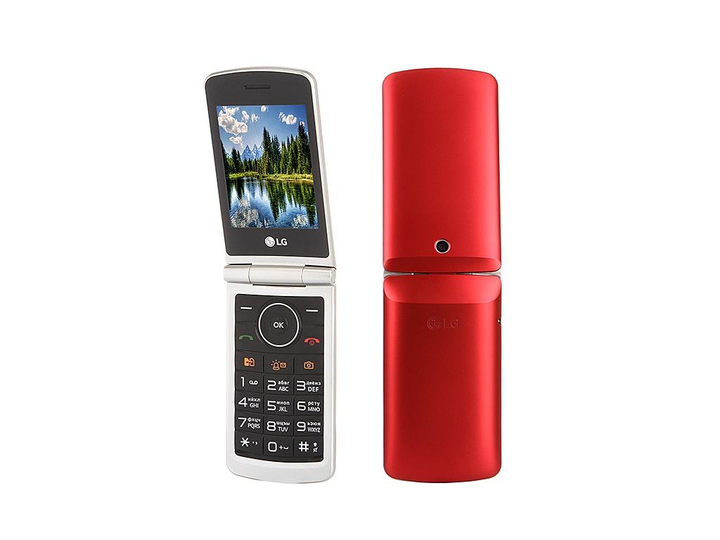 Сотовый телефон LG G360 Red<br>