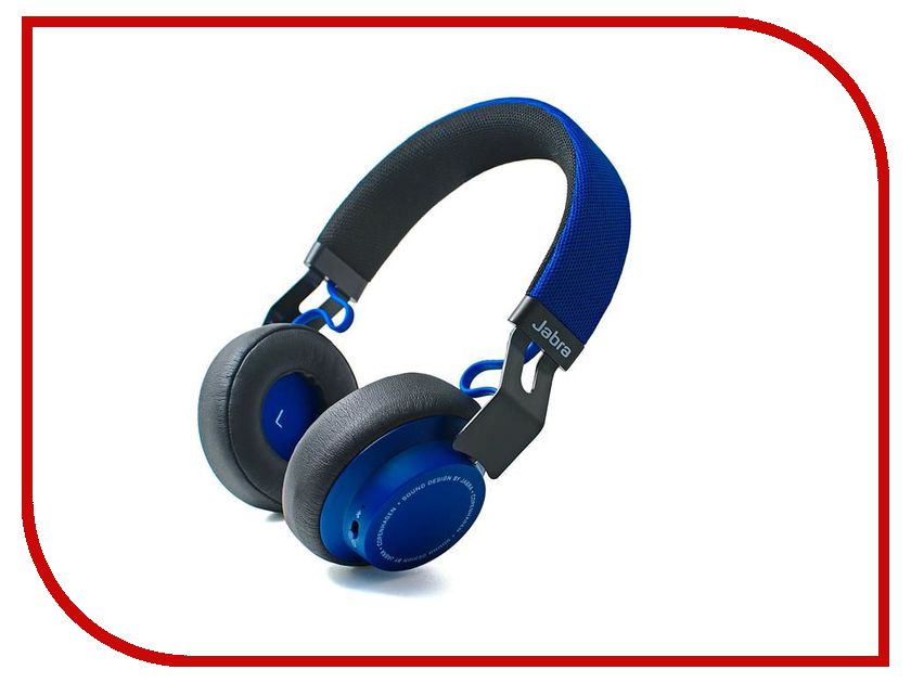 Гарнитура Jabra Move Blue bluetooth гарнитура jabra jabra move синий cobalt