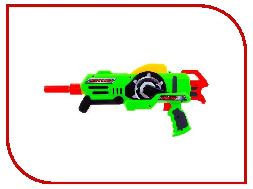 Игрушка Забияка SL-1252B Бластер с растущими пулями 186688
