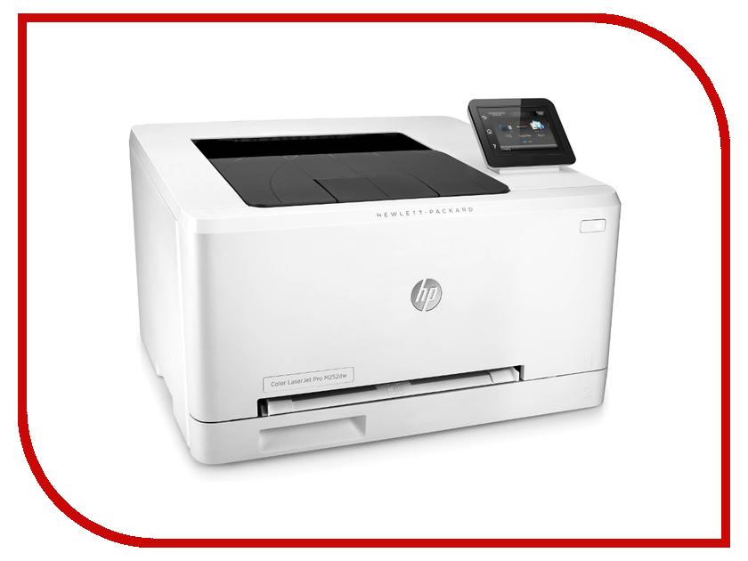 Принтер HP LaserJet Pro M252dw принтер hp color laserjet pro m254nw