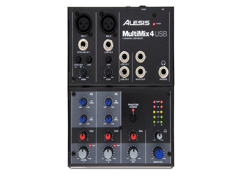 Пульт Alesis MultiMix 4 USB<br>