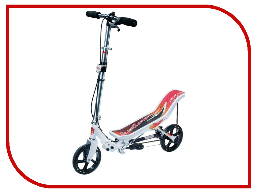 Самокат Space Scooter X580 White