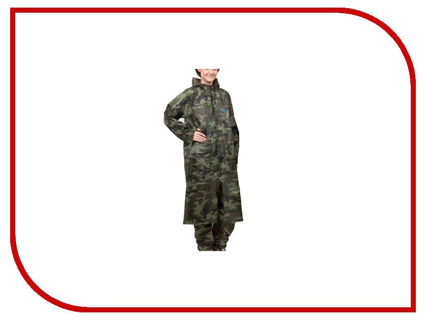Плащ-дождевик Water Proofline Hunter WPL 7.105 р.56-58/182-188 Camouflage костюм water proofline hunter wpl р 48 50 170 176 7 204