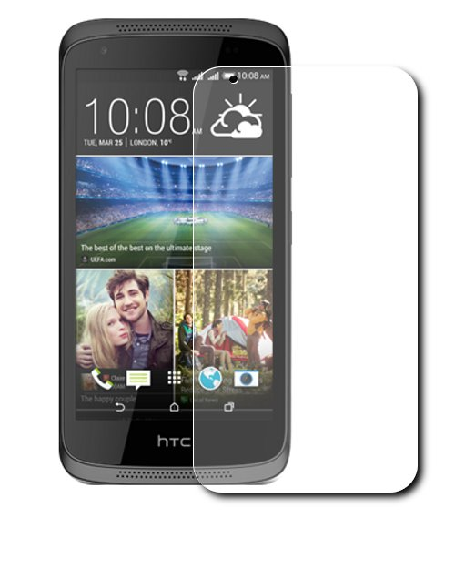 Аксессуар Защитная пленка HTC Desire 526G LuxCase суперпрозрачная 53112<br>