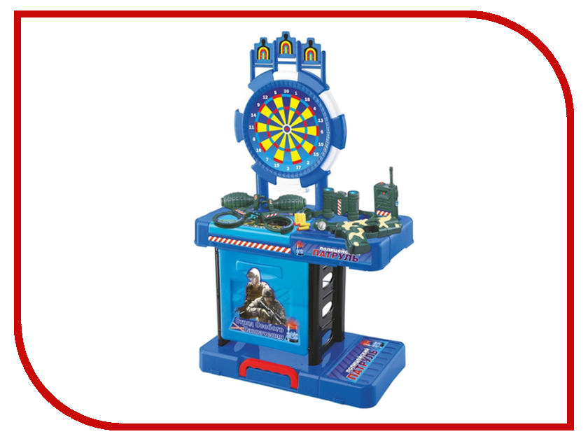 Игрушка Забияка SL-1251 Игровой столик с мишенью 190631