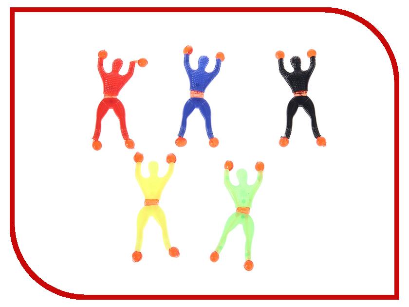 Игрушка Funny Line CS1121 / СИМА-ЛЕНД Nano 332489 Лизун Ползающий Человечек / СмеХторг Лизун Акробат, Человек ползет по стеклу<br>