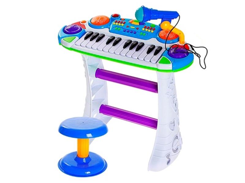 Детский музыкальный инструмент Забияка SL-2834A Напольный синтезатор 838751<br>