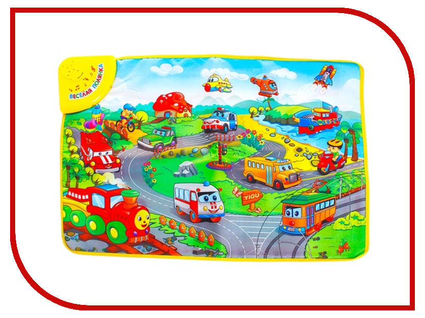 Развивающий коврик Забияка SL-6038B Веселая полянка - Городок 868013