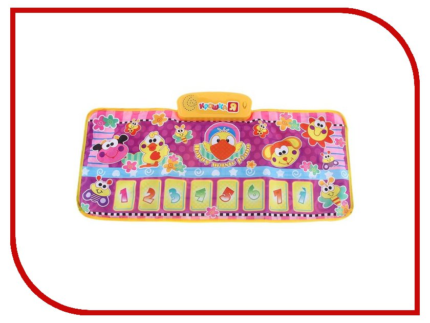 Игрушка Крошка Я SL-2115 Музыкальный коврик 750460<br>