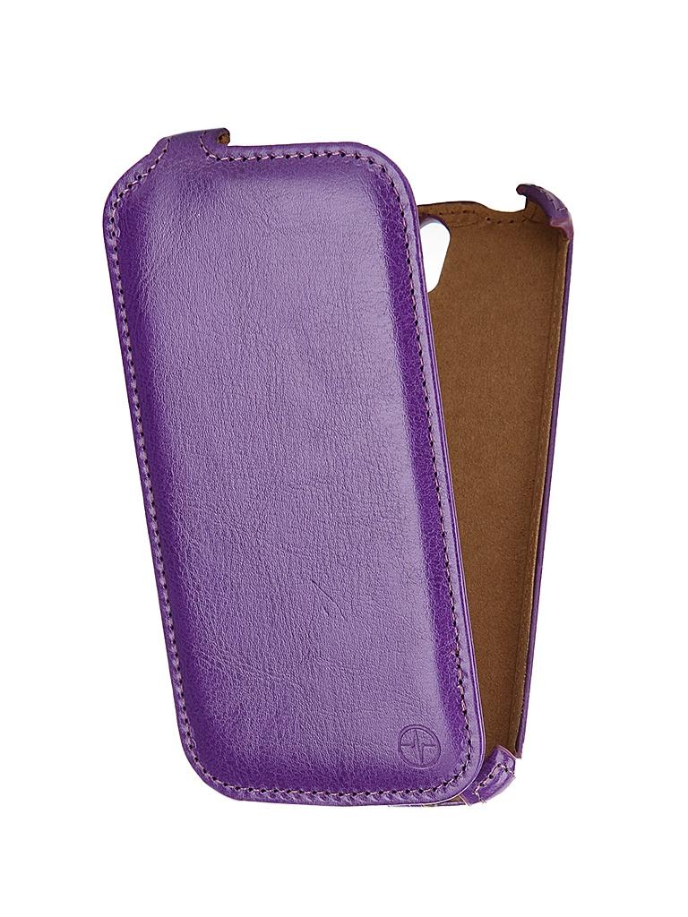 Аксессуар Чехол-флип Philips V387 Pulsar Shellcase Purple PSC0474