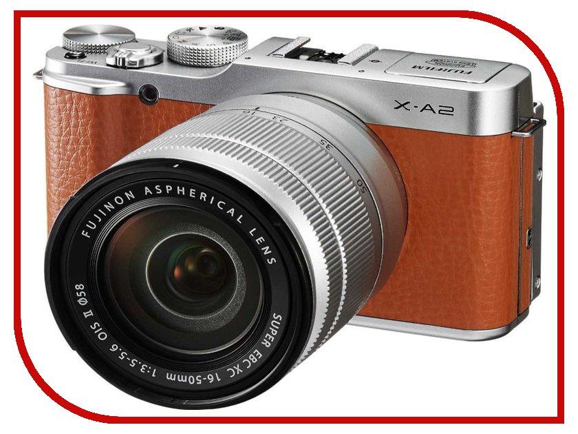 Zakazat.ru: Фотоаппарат FujiFilm X-A2 Kit 16-50 mm F/3.5-5.6 Brown