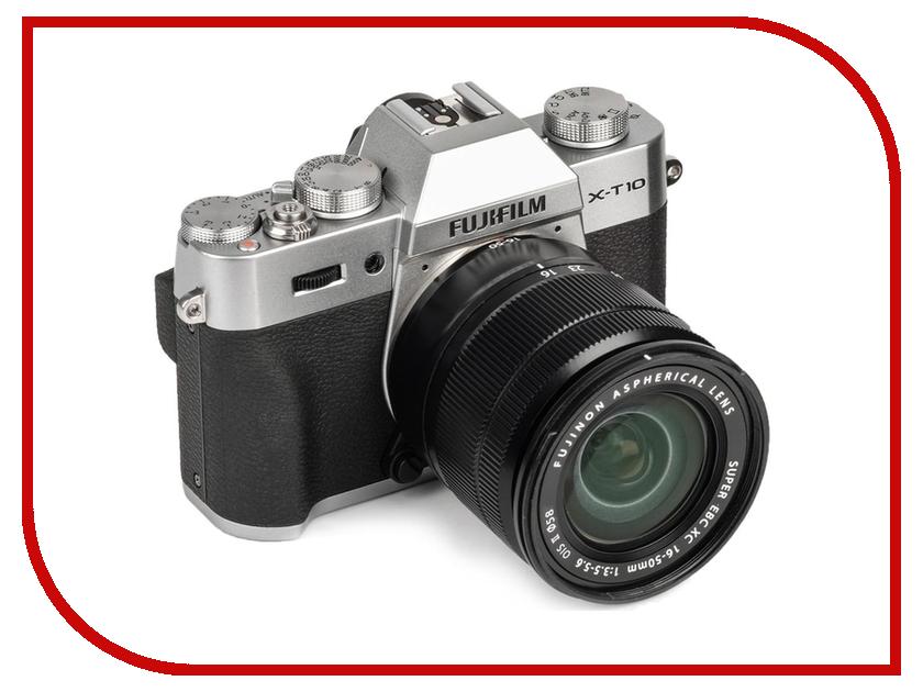 FujiFilm Фотоаппарат FujiFilm X-T10 Kit 16-50 mm F/3.5-5.6 Silver